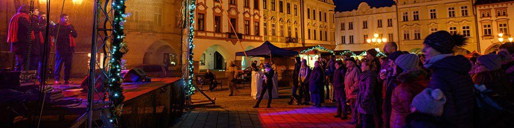 NoTimers na Masarykově náměstí v Novém Jičíně - vánoční koncert